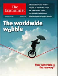 How the Economist of 8 Feb 2014 portrays the Wobble