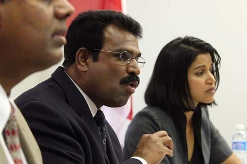 David Poopalapillai and Manjula Selvarajah (CTC)