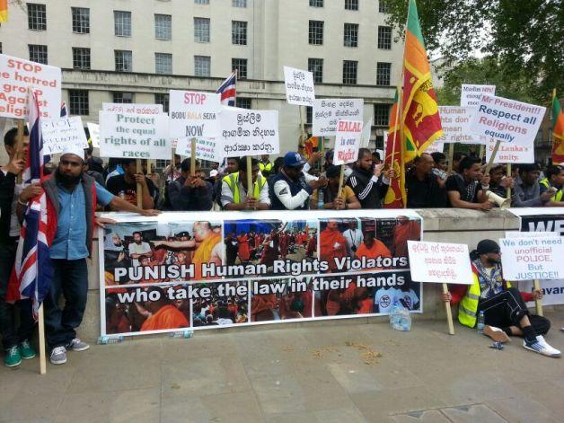 Muslim Protest London