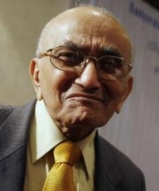 P N Bhagwati, former Indian Chief Justice