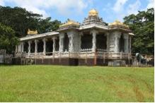 Exquisitely carved Iraivan Temple -  Exterior View