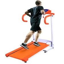 orange treadmill