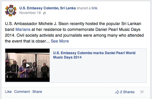 US Embassy video 1