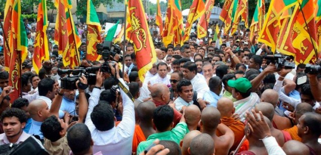 Maithripala nomination day