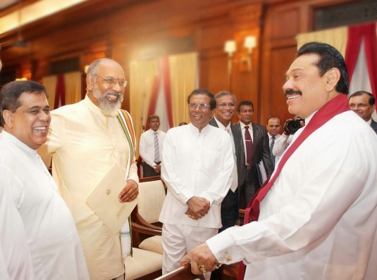 TNA Mahinda and Maithripala