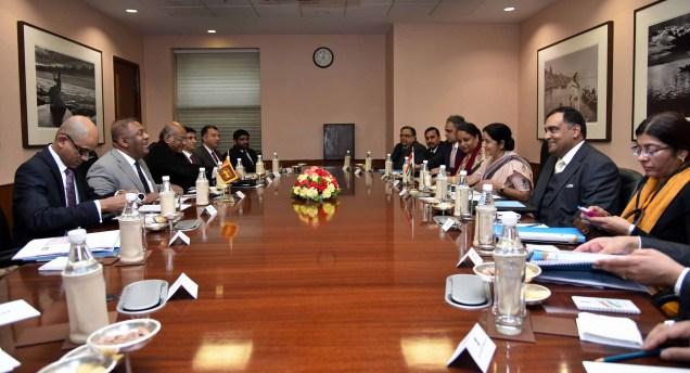 Bilateral talks between India and Sri Lanka