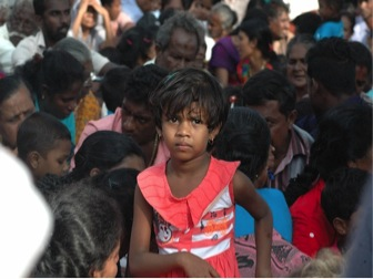 Picture of Children Victims of War- Picture courtesy Amantha Perera IPS
