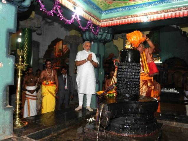 Modi Jaffna 2015 March