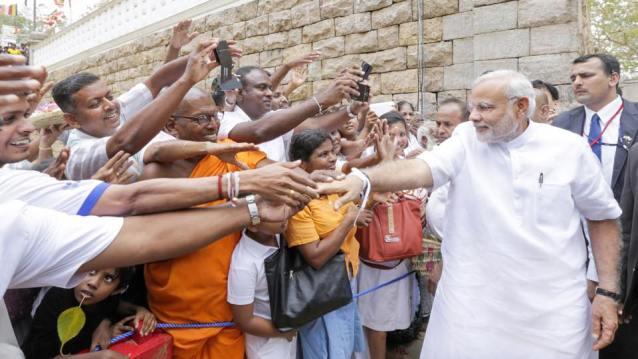 Modi Sri Lanka 2015