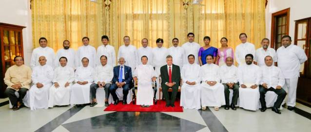 New Cabinet 22 march