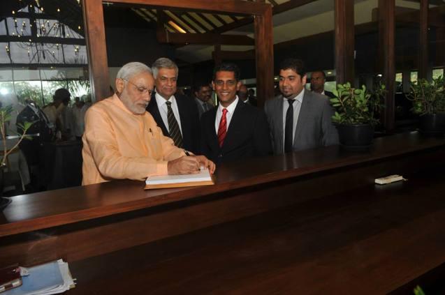 Ranil Modi March 2015