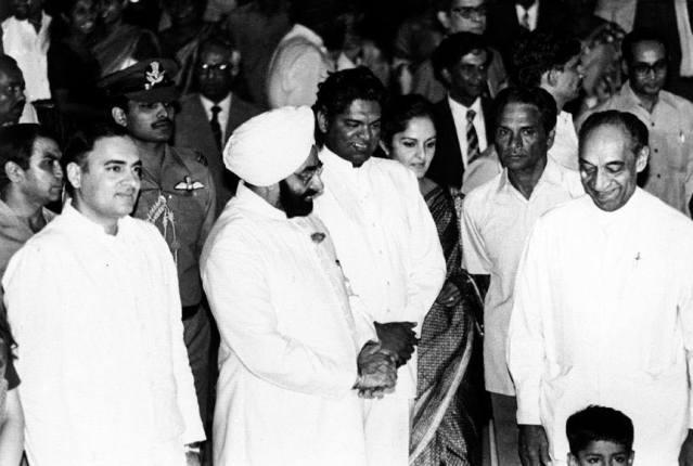 JR Jayewardene Lalith Athulathmudali and Rajiv
