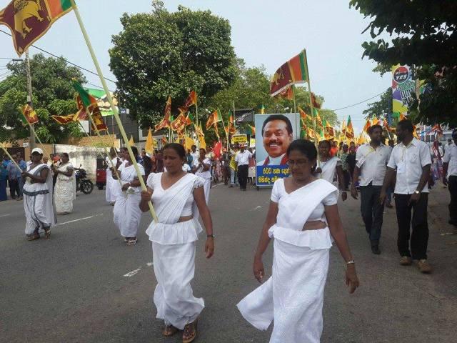 May Day Sinhala Nationalists 2015