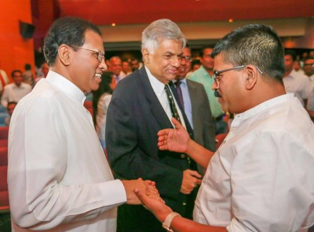 Sannasgala Ranil Maithri Pic Prez Media