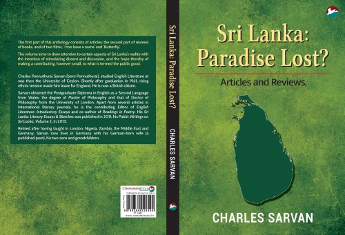Review of Sarvan's, Paradise Lost? by Dr. S. Chandrasekharan
