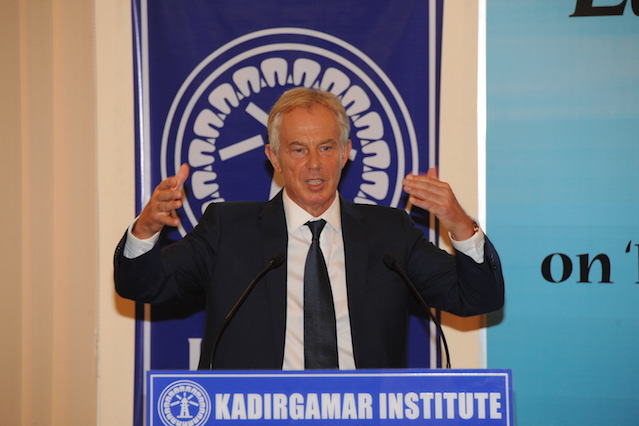 Tony Blair Sri Lanka