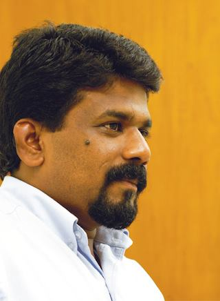 JVP leader Anura Kumara Dissanayake