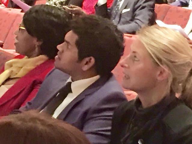 Daham Sirisena at UN