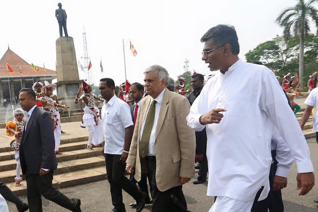 Ranil and Champika