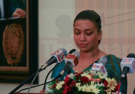 Senani Samaranayaka resigned