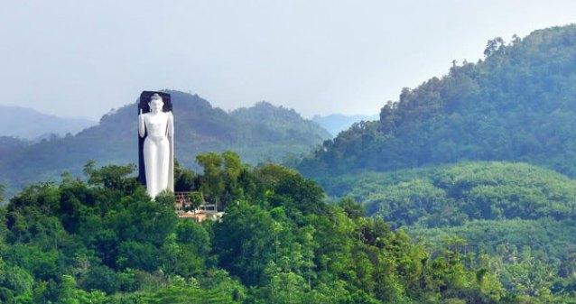 mathugama buddha statue