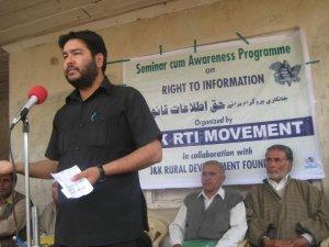 Venkatesh Nayak Programme Coordinator Access to Information Programme