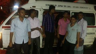 Peradeniya university Tamil muslim students attacked