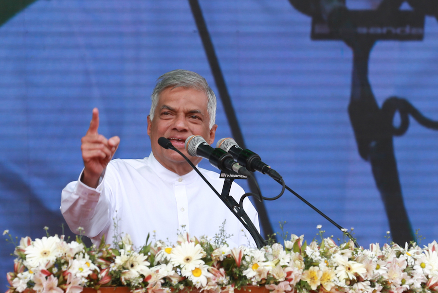 I Am Addressing You As PM Of Sri Lanka: Ranil Makes Confident