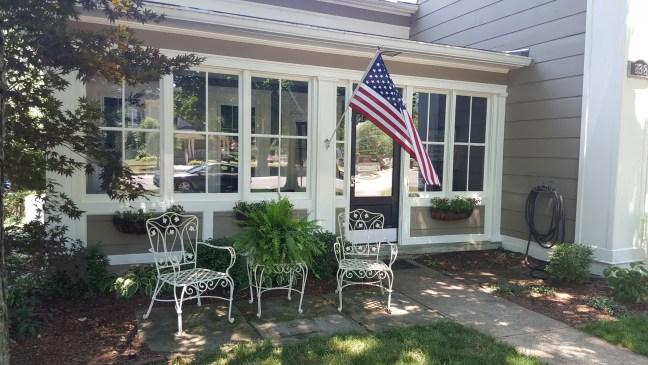 1842 Granville Ohio Porch