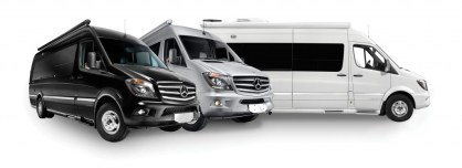 Airstream Interstates Color Choices