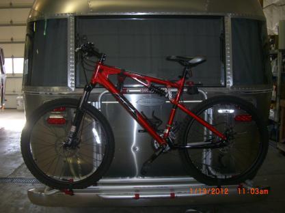 Airstream Travel Trailer Bike Rack 3
