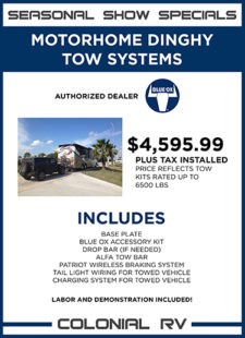 Blue Ox Tow System