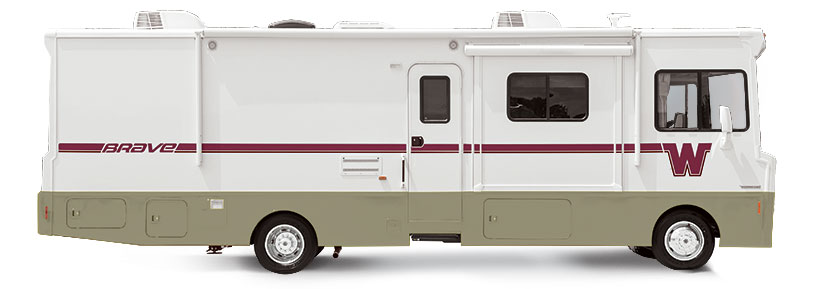 Brave Winnebago RVs | Itasca Model Equivalents Tribute