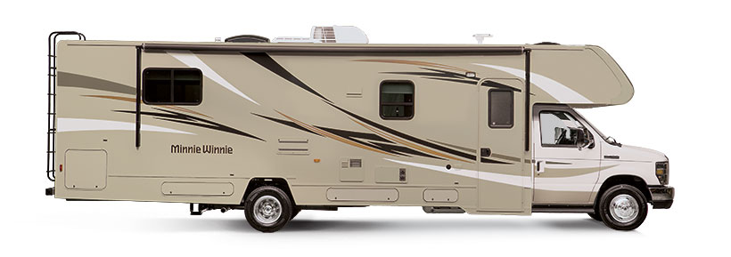 Minnie Winnie Winnebago RVs | Itasca Model Equivalents Spirit