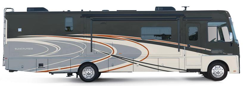 Suncruiser Itasca RVs | Winnebago Model Equivalents Adventurer