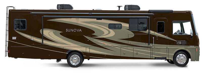Sunova Itasca RVs | Winnebago Model Equivalents Sightseer