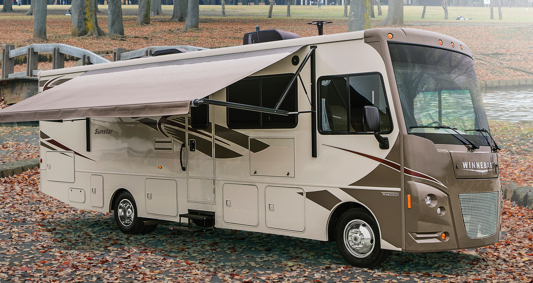 Winnebago sunstar 29ve a motorhome for the whole family for Class a motor homes for sale