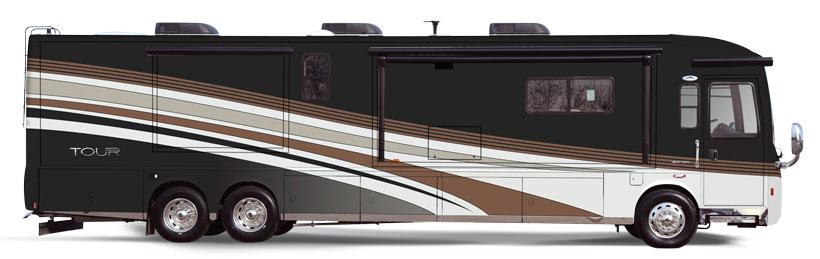 Tour Winnebago RVs   Itasca Model Equivalents Ellipse