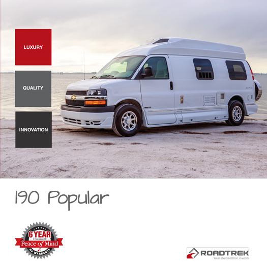 Roadtrek 190 2017 Brochure