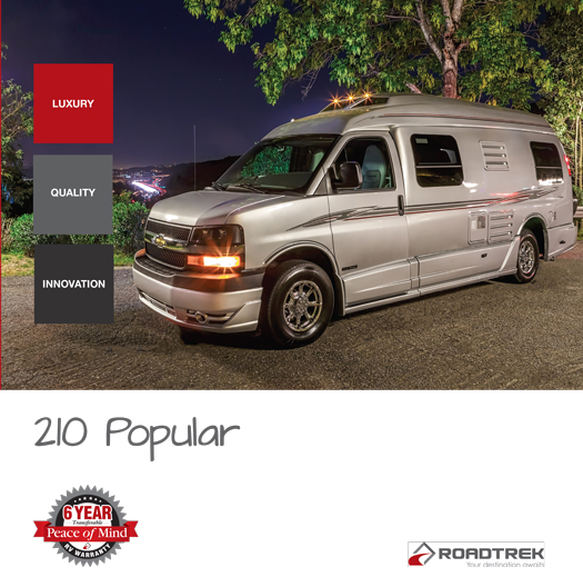 Roadtrek 210 Popular 2017 Brochure