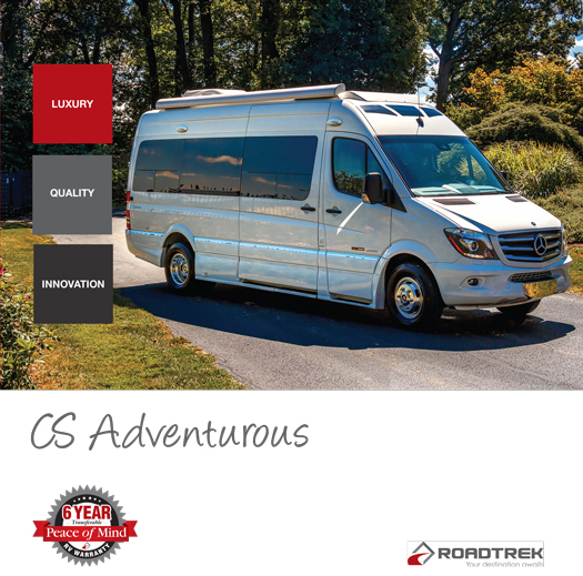 Roadtrek CS Adventurous 2017 Brochure