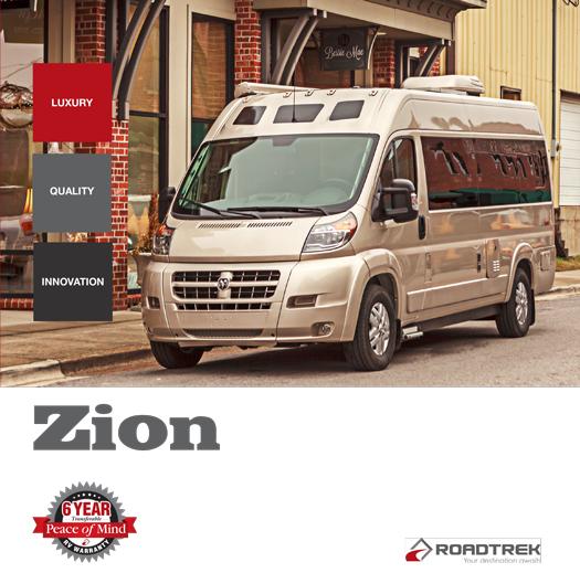 Roadtrek Zion 2017 Brochure