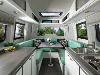 Meet the Airstream Nest, the New Fiberglass Airstream without Rivets
