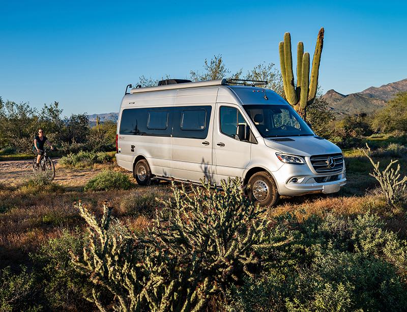 All-New Winnebago Boldt Class B Motorhome Van