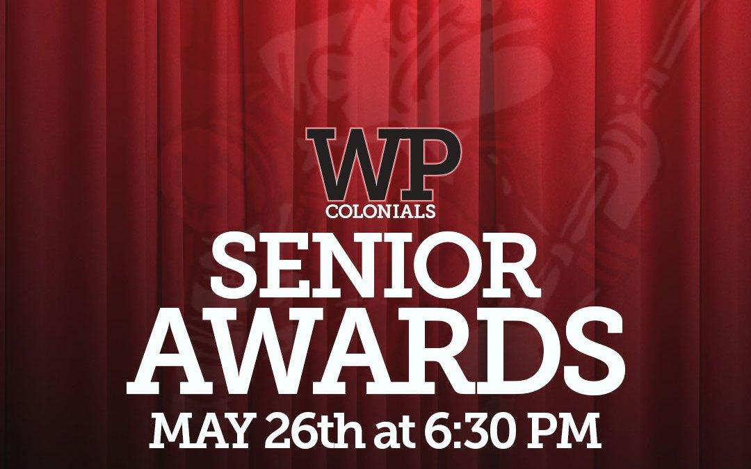 2020 Senior Awards [Updated Link 5/26/2020]