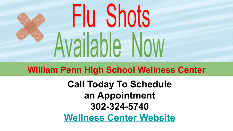 WPHS Wellness Center Accepting Appointments for Flu Vaccines