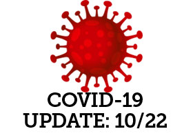 Positive COVID-19 tests WPHS: October 22nd, 2020