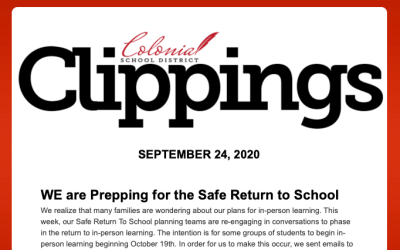 Colonial Clippings – September 24