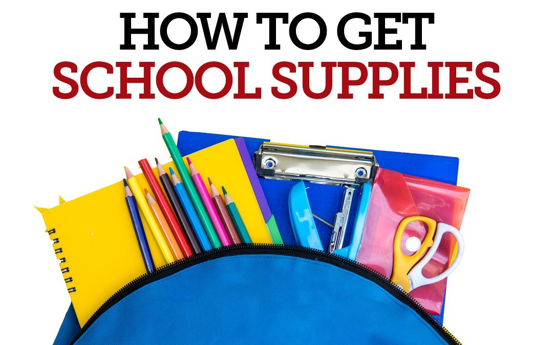 How to Get: School Supplies