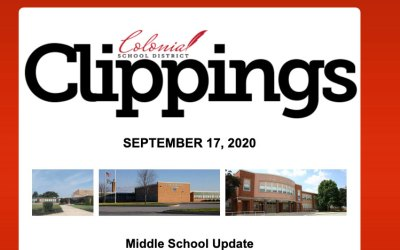 Colonial Clippings: September 17